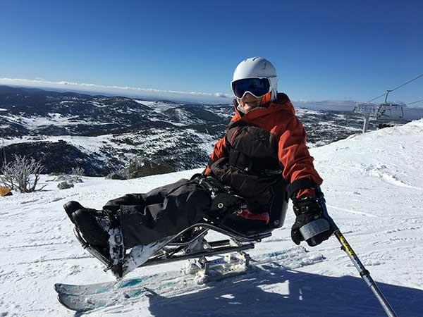 Greg ski photo