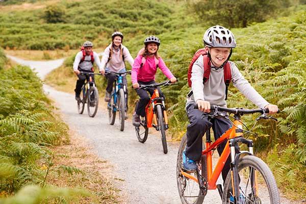 Stirling Estate Chalets Mountain Bike Trail