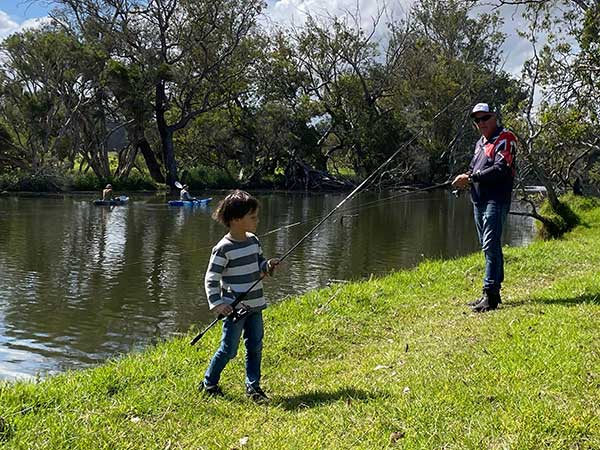 Fishing and Canoeing Capel River